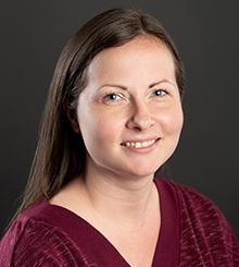 Headshot of Sarah Jackson, MA